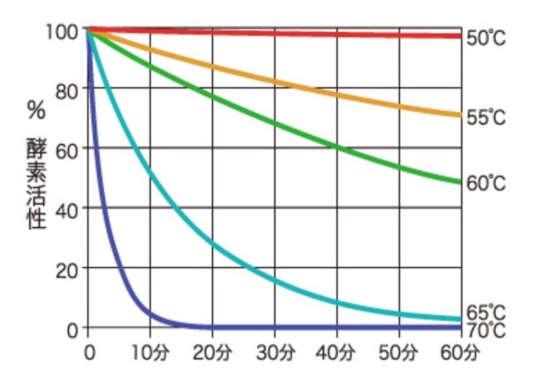 酵素 温度